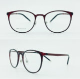 nos frames óticos de venda quentes de aço plásticos conservados em estoque de Eyewear dos Eyeglasses novos da luz do estilo