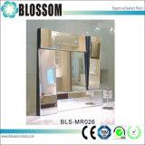 a sala de visitas do espelho da parede da decoração da HOME do projeto 3D decorou espelhos