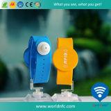 Alta frequenza 13.56MHz Ultralight EV1 RFID Silicone Wristband
