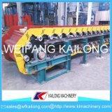 Tipo transportador de cadena del compartimiento del transportador del delantal de la alta precisión