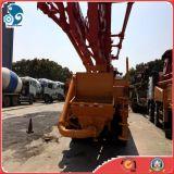Pompa per calcestruzzo Camion-Montata Isuzu utilizzata di Putzmeister con sistema a distanza/manuale
