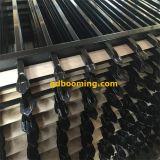 Rete fissa d'acciaio della parte superiore tubolare rivestita del germoglio della polvere per obbligazione