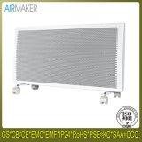 Calentador infrarrojo curvado eléctrico del panel de cristal de la visualización del LCD para el hogar