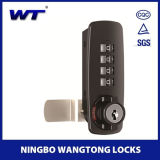 Fechamento de porta de Digitas do fechamento da chave da liga do zinco