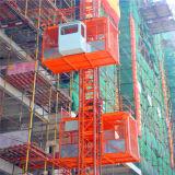 [سك200/200] مزدوجة أقفاص بناء مرفع /Construction مرفاع /Construction مصعد لأنّ عمليّة بيع