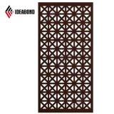 Design elegante do painel composto de alumínio CNC para decoração exterior