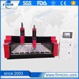grabado del ranurador del CNC 3D que talla la máquina para la piedra y el mármol
