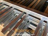 Montable en bastidor de acero recubierto de polvo de pasamanos de la parte superior plana Wholesale