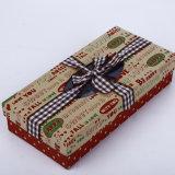 Manufactura real de la caja de regalo personalizado Caja de papel Kraft Caja de papel