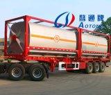De Semi Aanhangwagen van de Vrachtwagen van de Tanker van de brandstof (LAT9350GRY)