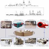 La capacité annuelle de 5000m3 à la chaîne de production du carton 100000m3