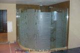 Het aangemaakte Glas van de Badkamers met Afgedrukt of Gefrit Patroon