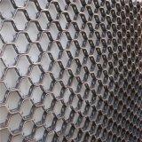 Malla hexagonal tubo colector de polvo y el codo