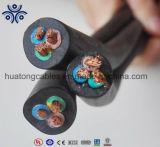 450/750V многоядерные гибкие резиновые пламенно H07rn-F кабель