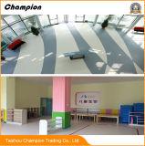 Prix de plancher homogène de vinyle de PVC de tapis commercial, plancher commercial de PVC pour la région restreinte de bus