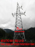 Megatro 66kv 06b2-J4 Scの重い角度および張力伝達タワー