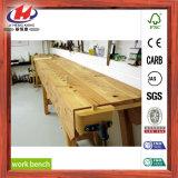 Table de travail à tablette mixte à bois