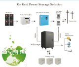 K 저장 3kw/5kw 휴대용 태양 에너지 시스템, 태양 가정 점화 발전기 시스템