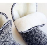 Marl Knitted Winter Warmer Slippers Shoes