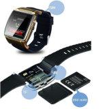 Het Slimme Horloge van het Silicium van Bluetooth van Gelbert met Camera voor Android&Ios