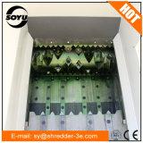 Únicos Shredder/triturador do plástico do eixo/Wood/PVC/Paper para a venda