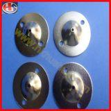 Accesorios de LED Lámparas colgantes, cúpula metálica cubierta de Anillo (HS-LF-001).