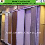 Доска панели стены Bamboo волокна PVC декоративная делая машину