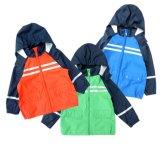 El poliuretano embroma la chaqueta impermeable de la lluvia de la seguridad del impermeable