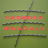 Fibra de aço da extremidade de alta elasticidade do gancho da qualidade ISO9001 da força para o concreto