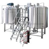 Используется пивоварни оборудование для продажи пива механизма с маркировкой CE сертификации ISO