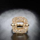 Boucle carrée d'acier inoxydable de bijou d'Artifcial de femmes élégants de forme