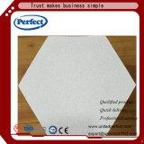 Panneau/panneau de plafond de fibre renforcés par matériau décoratif de laines de laitier