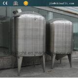 Tanque de armazenamento de líquido químico de aço inoxidável