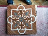 Azulejo de suelo esmaltado de cerámica de la inyección de tinta de los diseños modernos