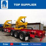 대륙간 탄도탄 자동 장전 콘테이너 트럭 각자 선적 선적 컨테이너 트레일러