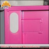 Mobilier coloré petit casier 6 porte en métal de l'école