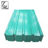 Vorgestrichenes gewölbtes galvanisiertes Blatt für Dach-Material