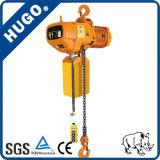 Élévateur à chaînes électrique de qualité de Hsy avec le chariot électrique