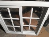 Fornecer um design quente UPVC grandes janelas de correr para casa de baixa renda