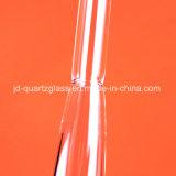 Сопротивление коррозии кристаллический кварц Стеклянная трубка для трубы печи