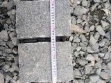 暗い灰色の敷石G654の花こう岩