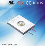 Aprobado por UL 12V de 1,5 W módulo LED de mazorca IP66.