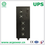 Three phase Industrial pure Sine UPS power system with 10kVA to of 200kVA (certified by CE, ISO)