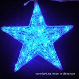 Motivo de LED de luz LED de vacaciones de Navidad Santa Decoración