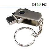 금속 물자 자유로운 로고 회전대 디자인 USB 섬광 드라이브 (XPZ)