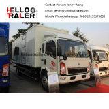 Sinotruk Brand HOWO 4X2 10ton camión de carga de la luz de HP 160