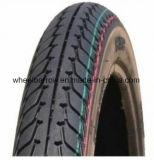 3.00-18 Motorrad zerteilt haltbaren schwarzen Reifen Motorrad des neuen Musters
