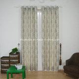 2015 venta de la tapa de lino Jacquard pieza teñida cortina de la ventana