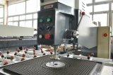 Máquina de perfuração de vidro horizontal de Comando Manual