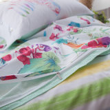 Tampa impressa barata do Quilt dos Bedsheets do fundamento do algodão